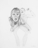 Sex, 2003 - pencil on paper - 61 x 48.3 cm (24 x 19 in)